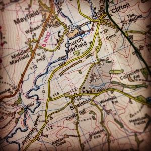 Map: Ordnance Survey 1:50,000, Landranger, Map 118 Derby & Burton upon Trent