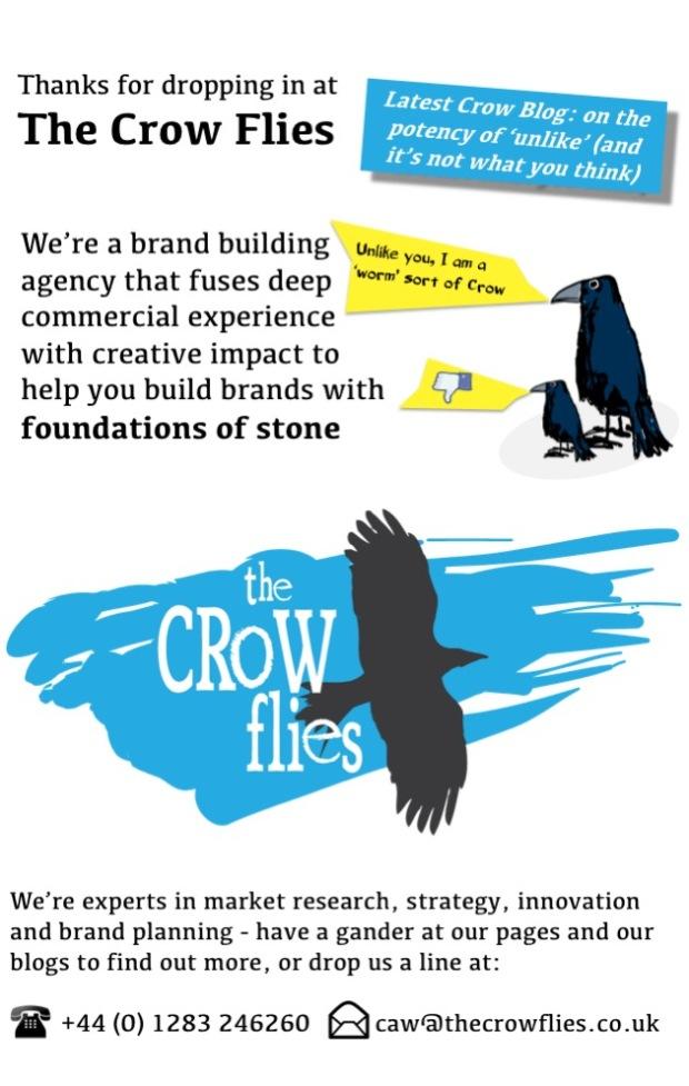 Crow UNLIKE page Mar 2018