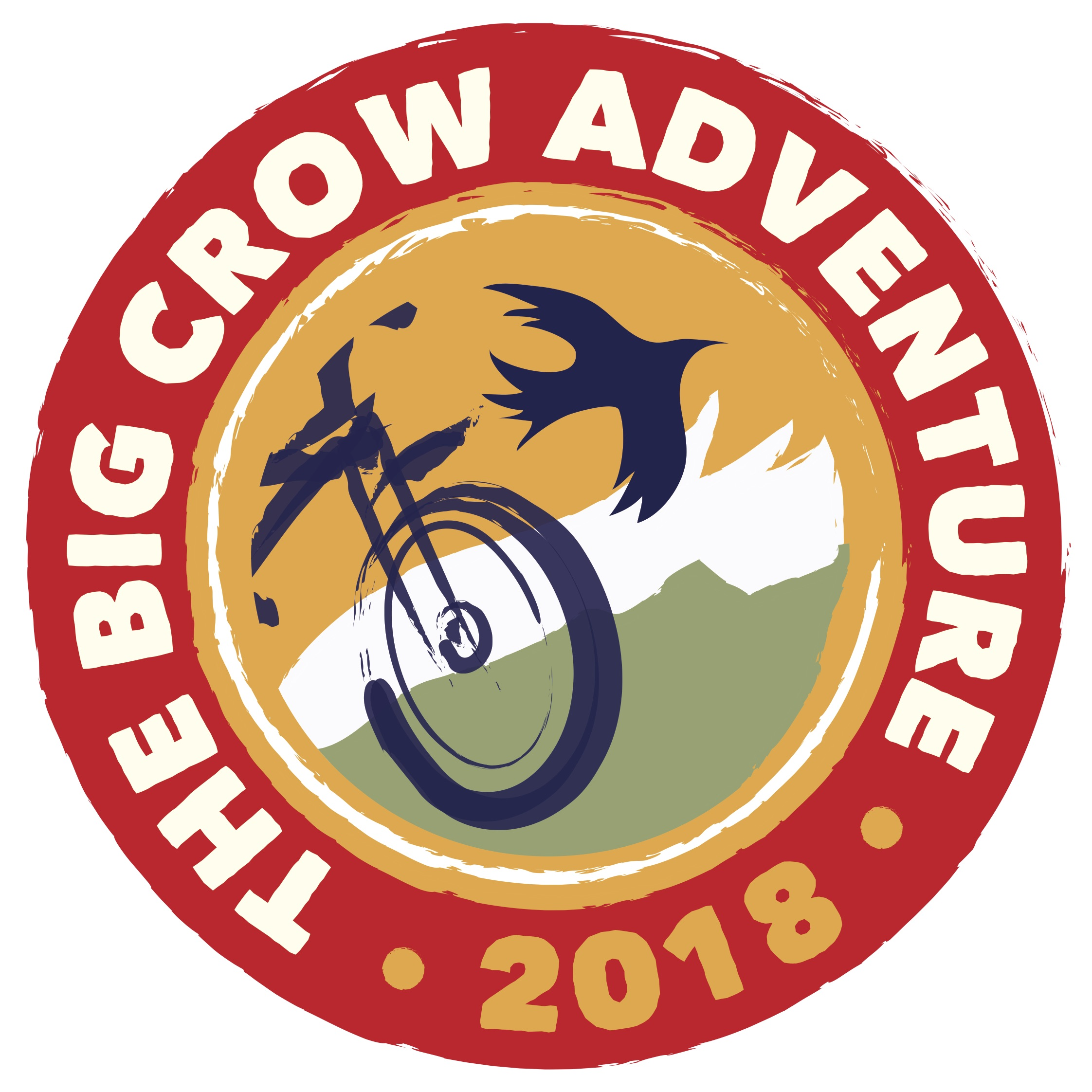 THE BIG CROW ADVENTURE ANGLED PRINT